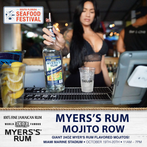 Myers's Rum Mojito Row